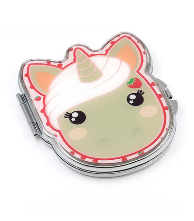 candy cloud jazzy metal compact mirror