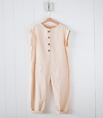 laila & lyra delaney jumpsuit - cream