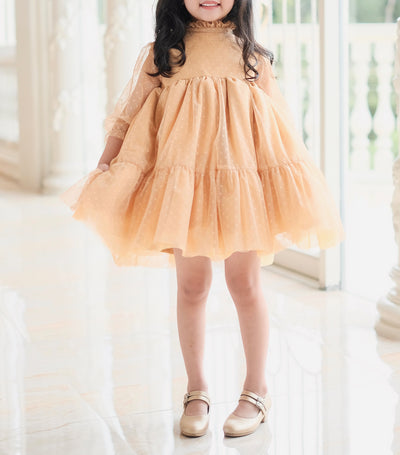 laila & lyra bertha dress - yellow