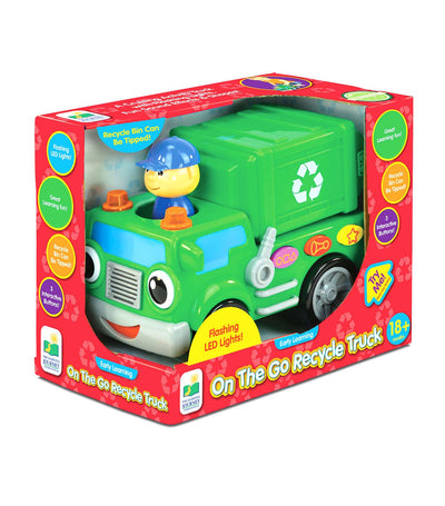 the learning journey early learning - on the go recycle truck