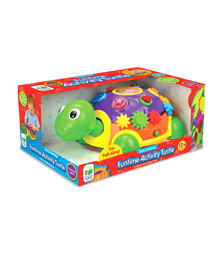 the learning journey early learning - funtime activity turtle
