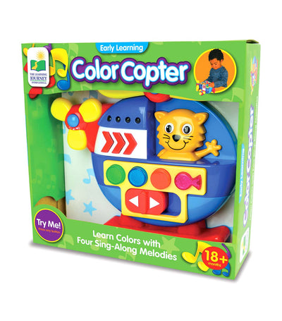 the learning journey early learning - color copter