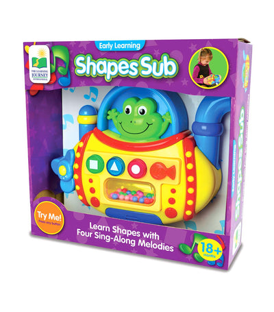 the learning journey early learning - shapes sub