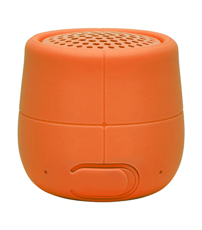 Mino X Water-Resistant Bluetooth Speaker Orange