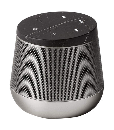 Miami Sound Bluetooth Speaker Black Marble and Gunmetal
