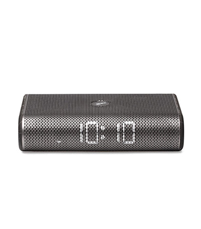 Miami Time Clock Radio Speaker Gunmetal