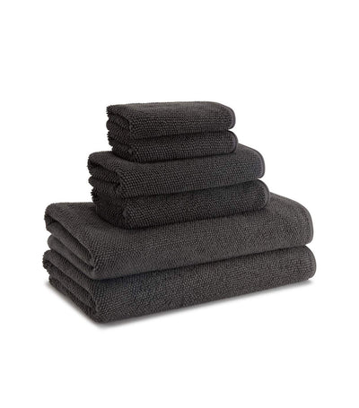 Kassatex Cobblestone Towel - Coal