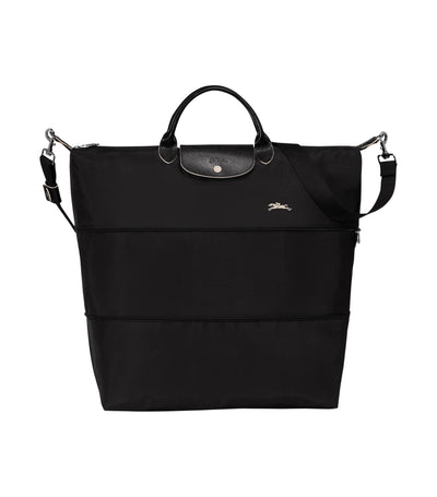 Le Pliage Club Expandable Travel Bag Black