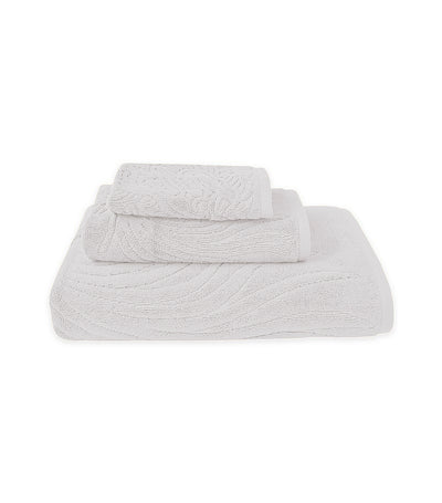 Natori Dragon Towel - White