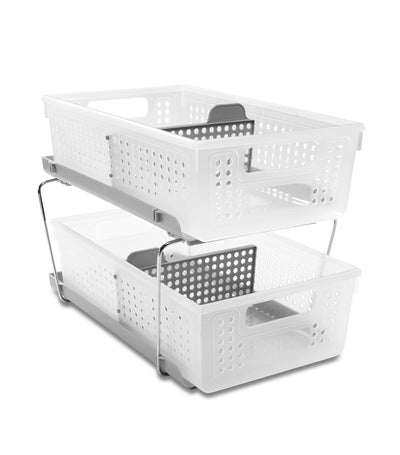 MakeRoom Two-Tier Organizer with Dividers