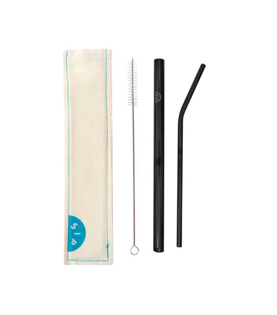 Buddy Straw Set - Black