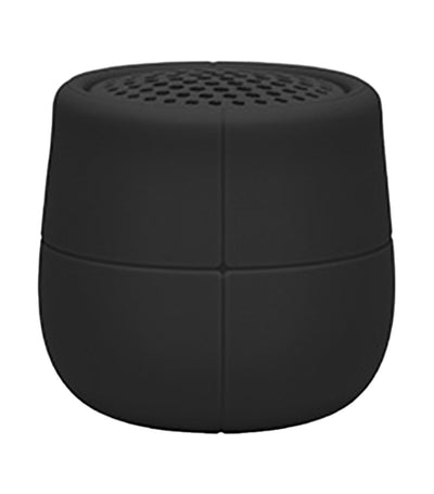 Mino X Water-Resistant Bluetooth Speaker Black