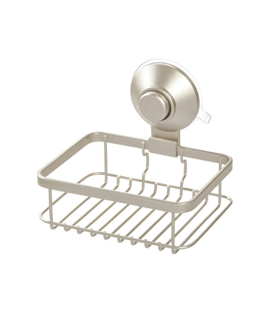 MakeRoom Everett Push Lock Soap Dish - Satin