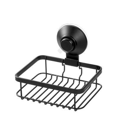 MakeRoom Everett Push Lock Soap Dish - Black