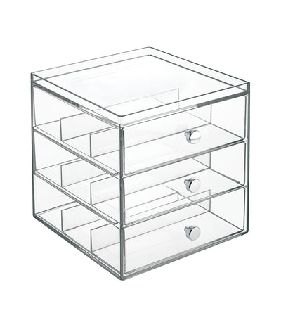 MakeRoom Three-Layer Clear Drawer