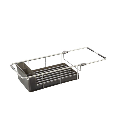 MakeRoom Metro Aluminum Over Sink Dish Drainer