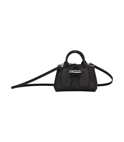 Roseau Top-Handle Bag S Black