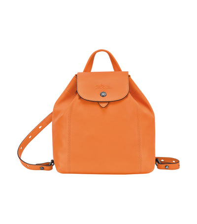 Le Pliage Cuir Backpack XS Orange