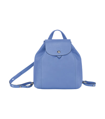 Le Pliage Cuir Backpack XS Blue