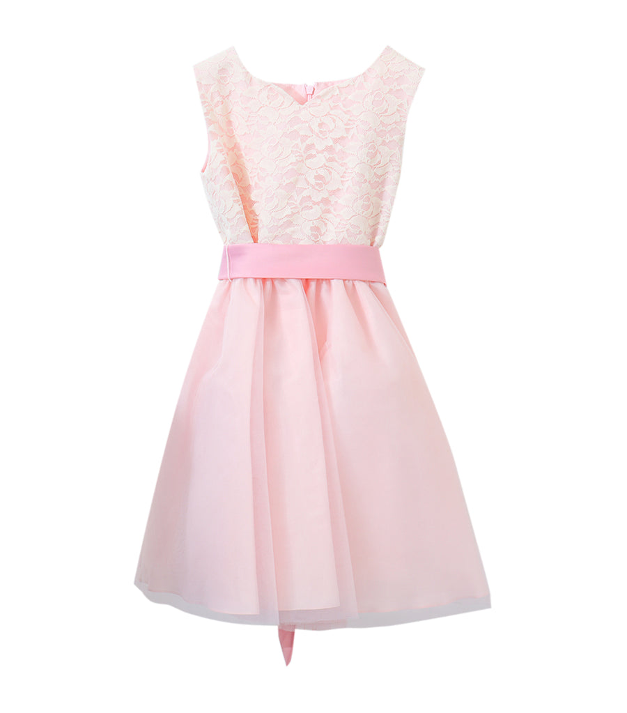 rustanette pink jasmine lace dress