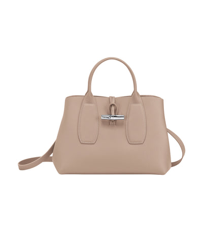 Roseau Top-Handle Bag M Sand