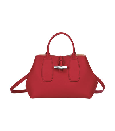Roseau Top-Handle Bag M Red