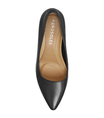 Rochester Wide Pumps Black