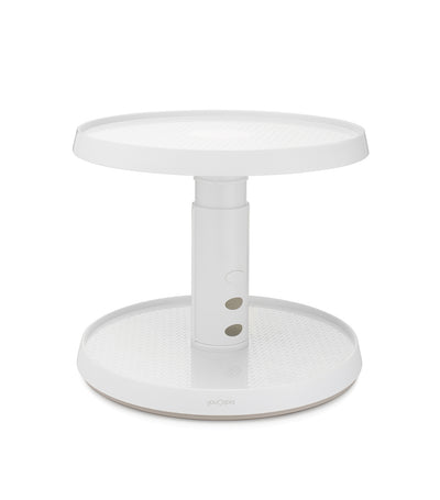 MakeRoom Crazy Susan 11-inch Two Tier Turntable