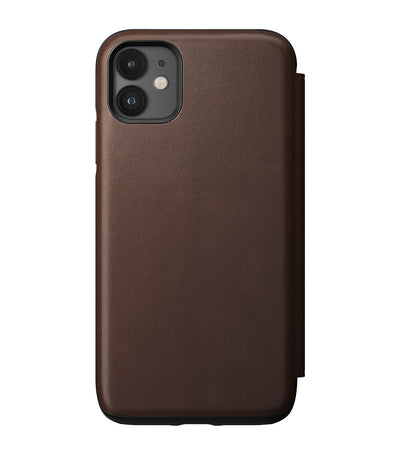 Rugged Folio for iPhone 11 Rustic Brown
