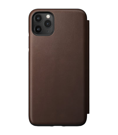 Rugged Folio for iPhone11 Pro Max Rustic Brown