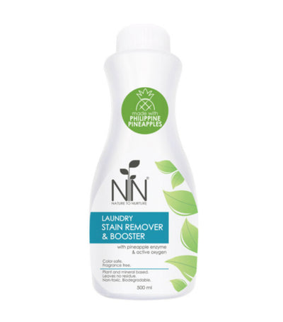 nature to nurture laundry stain remover and booster