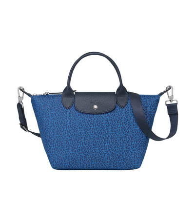 Le Pliage Panthère Top-Handle Bag S Blue