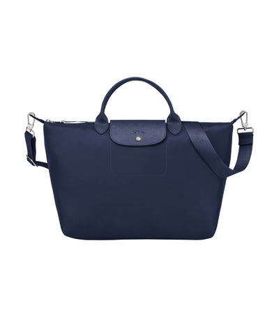 Le Pliage Néo Top-Handle Bag L Navy