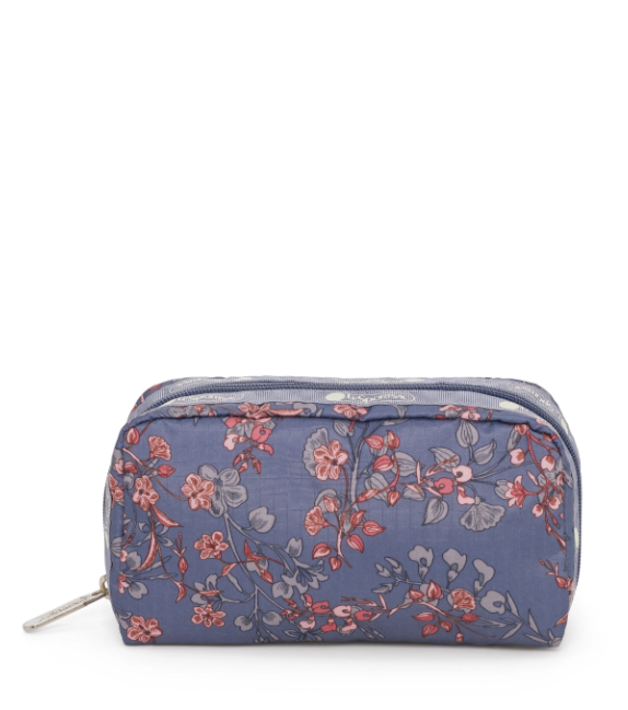 Laelia Dusk Rectangular Cosmetic Pouch