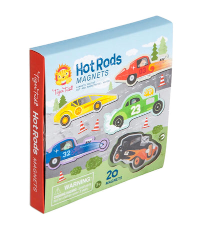 Hot Rods Magnets