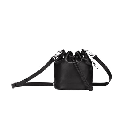 Le Foulonné Bucket Bag S Black