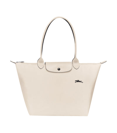 Le Pliage Club Shoulder Bag L Chalk