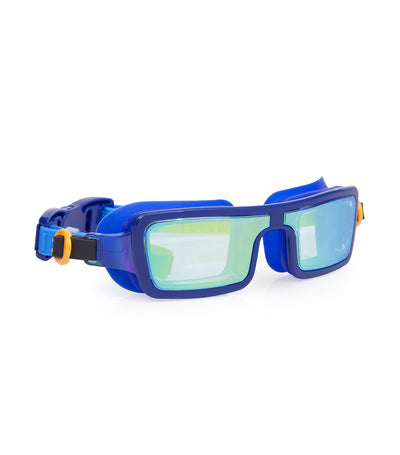 bling2o blue tech royal electric 80's swim goggles