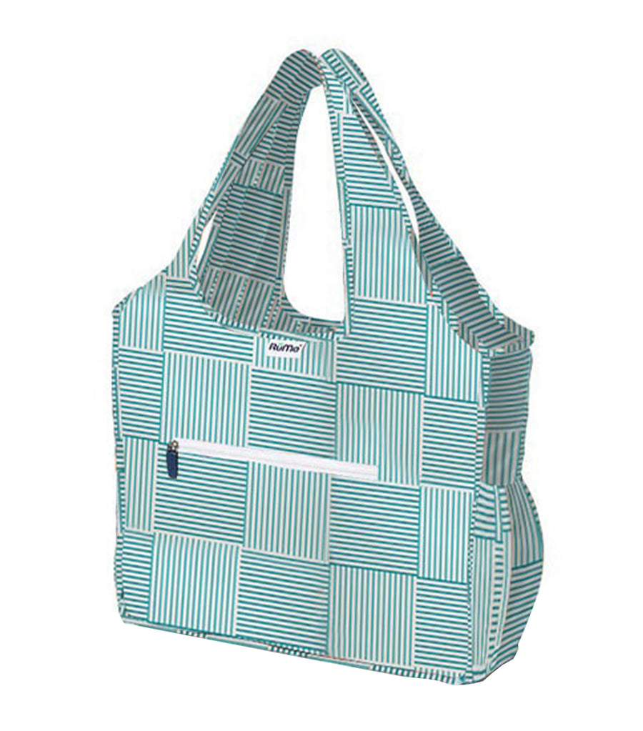 All Foldable Zippered Tote St. Tropez
