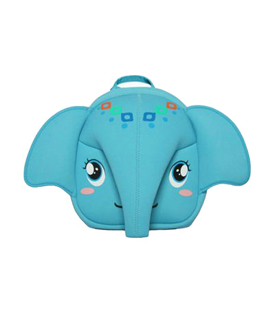 supercute blue elephant backpack