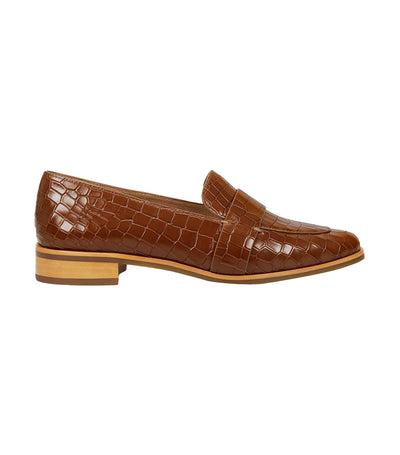 Eden Loafers Tan Croco
