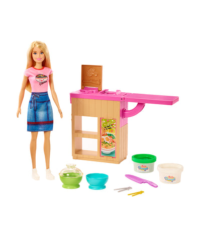 barbie® noodle maker doll and playset
