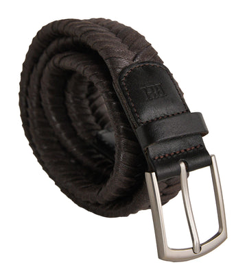 Braided Belt Brown