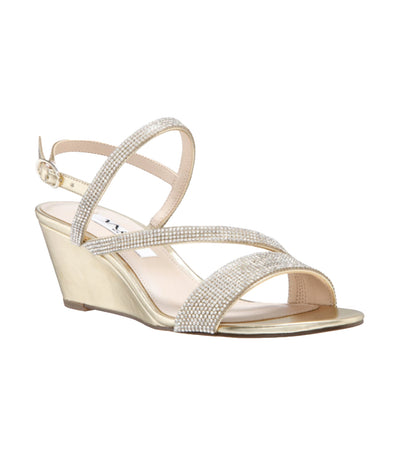 Naloni Wedge Platino Metallic Foil
