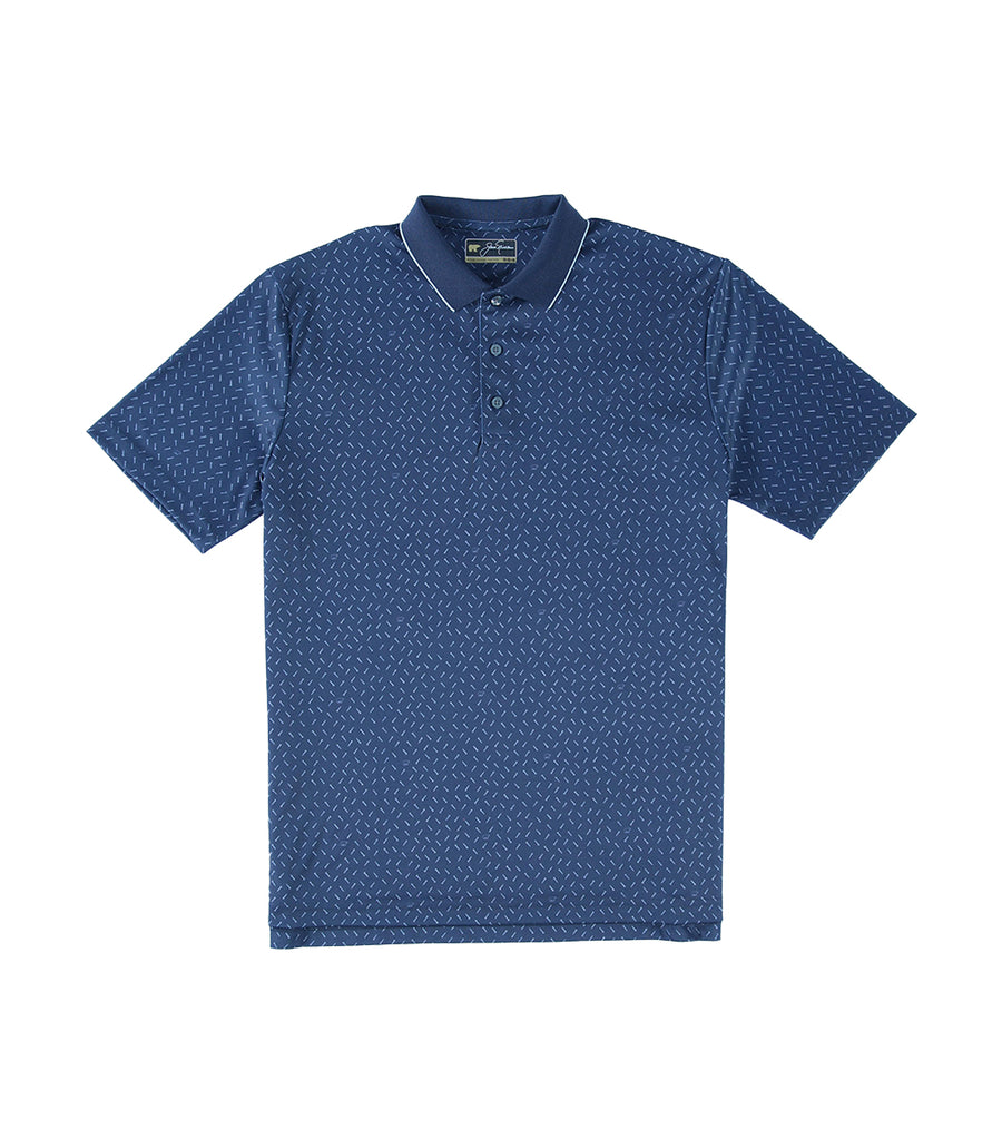 Mini Tee & Bear Print Polo Classic Navy