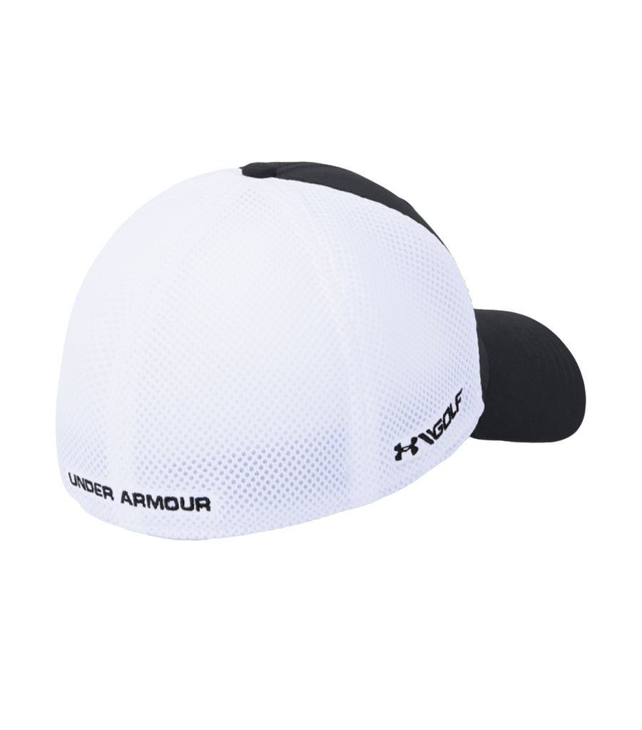 UA Microthread Golf Mesh Cap Black