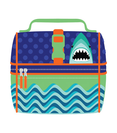 cool kids lunch bag - shark