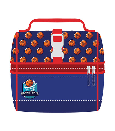 cool kids lunch bag - basketball
