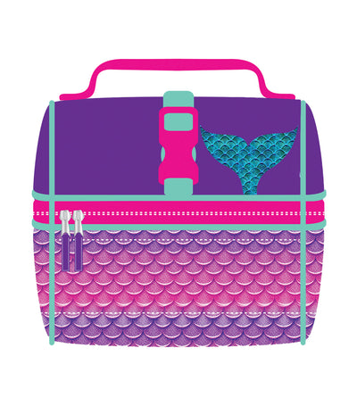 Girls Lunch Bag - Mermaid Tail