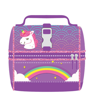 cool kids girls lunch bag - unicorn